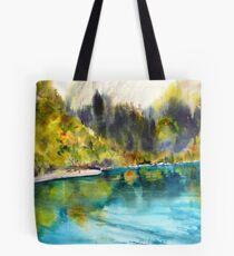 Crystal waters - Jiuziakou Tote Bag
