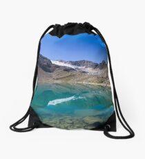 Blaue Lacke (2.290m) Drawstring Bag