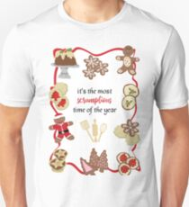 Scrumptious Christmas Cookies Slim Fit T-Shirt