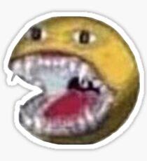 Cursed emoji sticker #2 Glossy Sticker