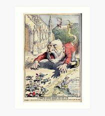Achille Lemot Combes 1902 Art Print