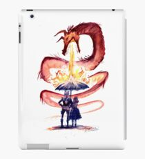 Water & Fire iPad Case/Skin