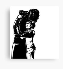 Stronger When You Hold Her Canvas Print