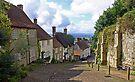 Downhill- Shaftsbury England by Debbie Pinard