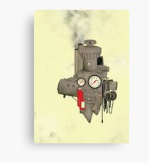 The Machine Canvas Print