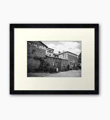 ruralscapes #117, gated Framed Print