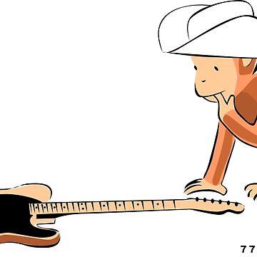 77 El Deora -Guitar George by 77eldeora