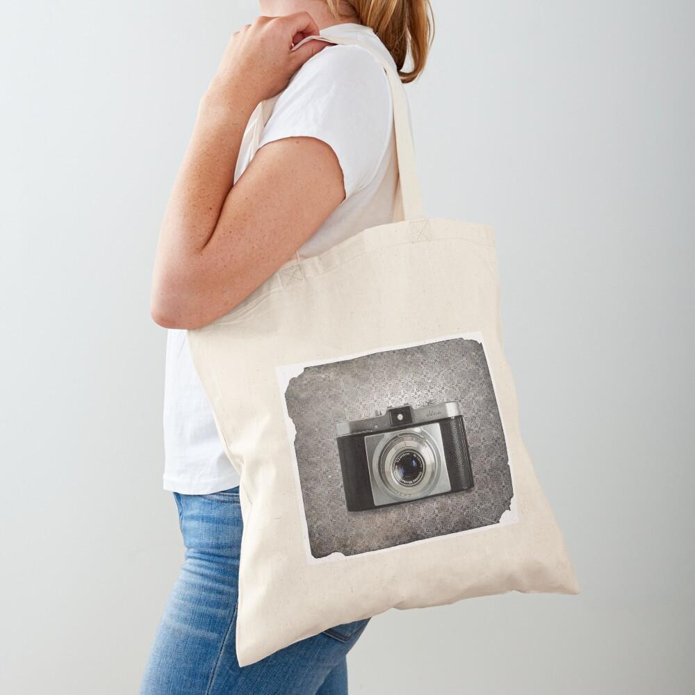 iLoca 35mm Camera Vintage Black and White Tote Bag