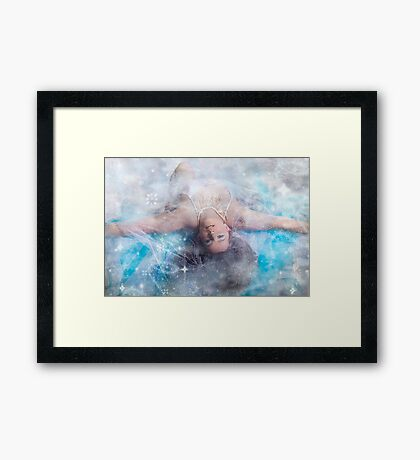 Ice queen 2 Framed Print