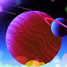 Cosmic Lights - Planets, Moons and Stars by orionlodubyal
