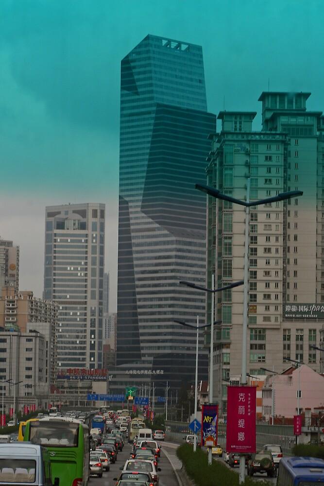 Gridlock in Shanghai by GW-FotoWerx