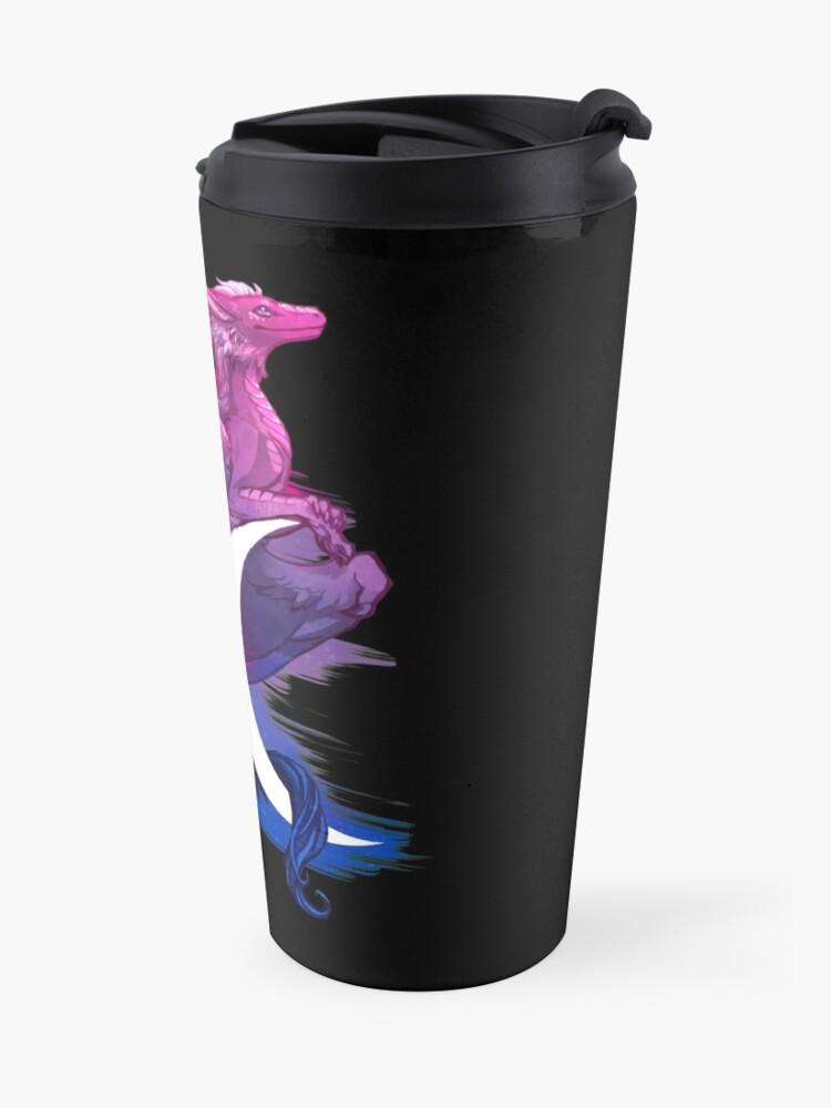 Alternate view of Bi Pride Dragon Travel Mug