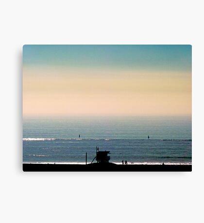 Santa Monica Hut Canvas Print