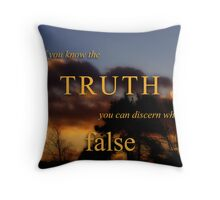 KNOW TRUTH (11) Throw Pillow
