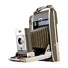 Polaroid Camera with Bellows #2 by RetroArtFactory