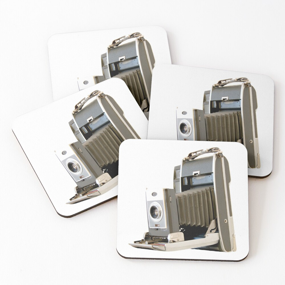 Polaroid Camera with Bellows #2 Coasters (Set of 4)