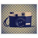 Debonair Plastic Camera - Vintage Color by RetroArtFactory