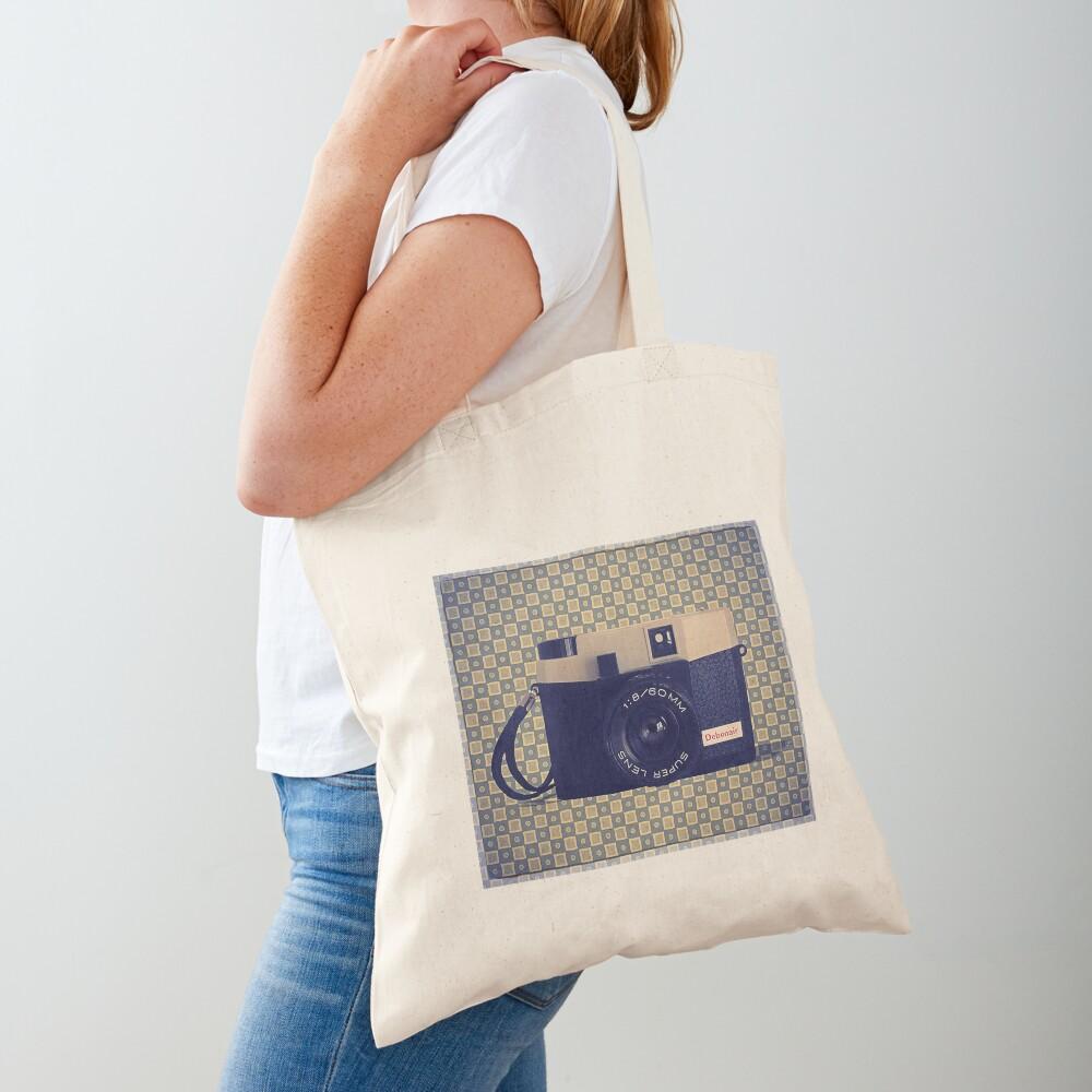 Debonair Plastic Camera - Vintage Color Tote Bag