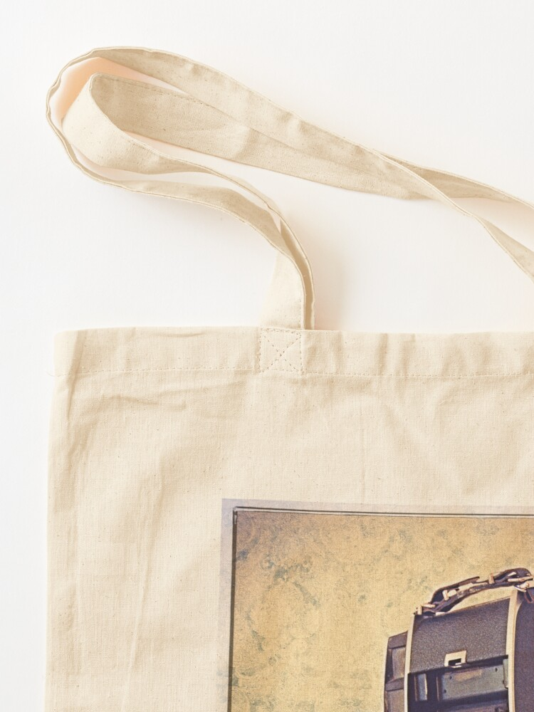Alternate view of Polaroid Camera with Bellows - Vintage Color Tote Bag