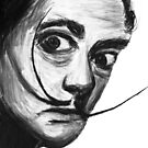 Salvador Dali And The Magnificent Mustache by Followthedon