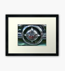 Grill Work Framed Print