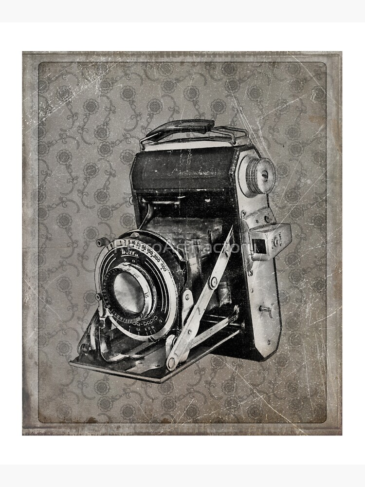 Welta Camera - Vintage Black and White by RetroArtFactory