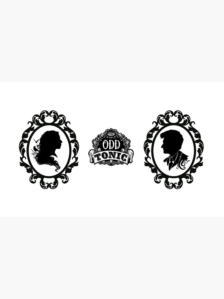 Odd Tonic Silhouette for Mugs and Cups by OddTonic