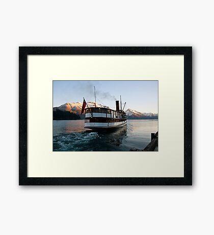 TSS Earnslaw Framed Print