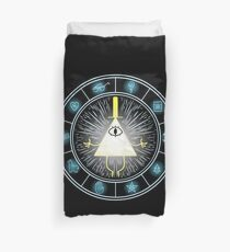 Bill Cipher Duvet Cover