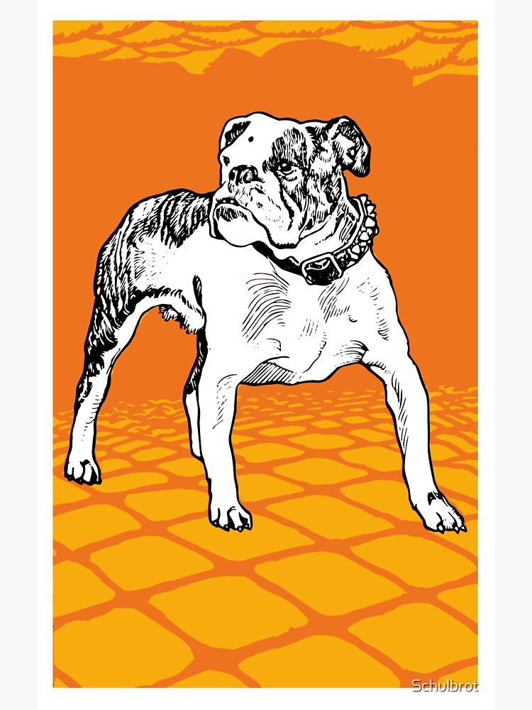 Bulldog 20s vintage by Schulbrot