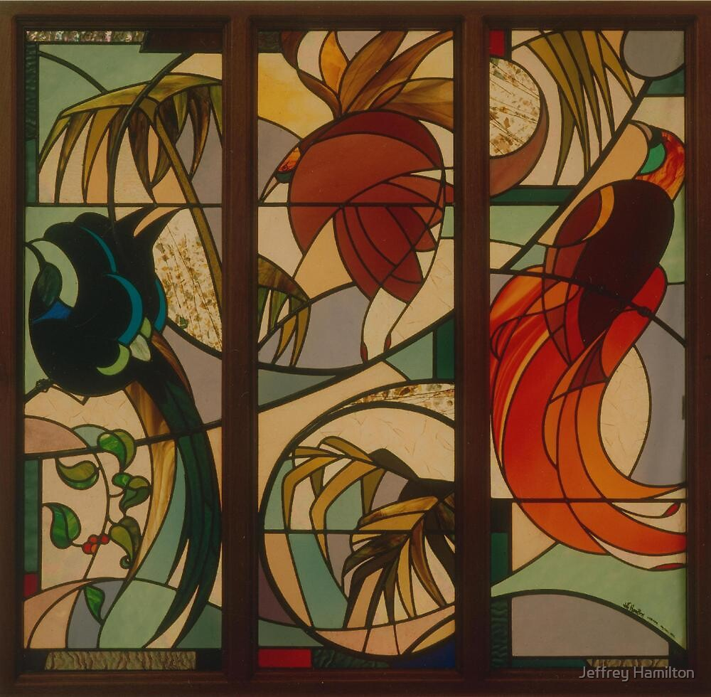 Birds of Paradise 1992 by Jeffrey Hamilton
