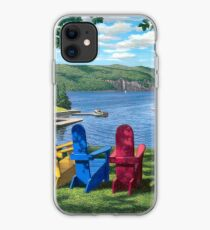 """Harbor View"" by Reed Prescott iPhone Case"
