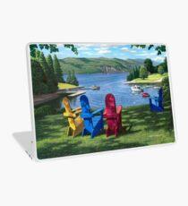 """Harbor View"" by Reed Prescott Laptop Skin"