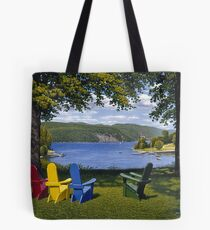 """Palisades"" oil painting by Reed Prescott Tote Bag"