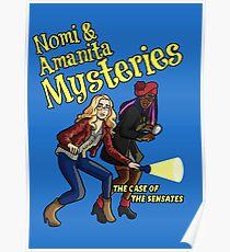 Nomi and Amanita Mysteries Poster