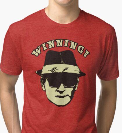 Charlie Sheen Winning Tri-blend T-Shirt