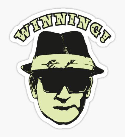 Charlie Sheen Winning Sticker