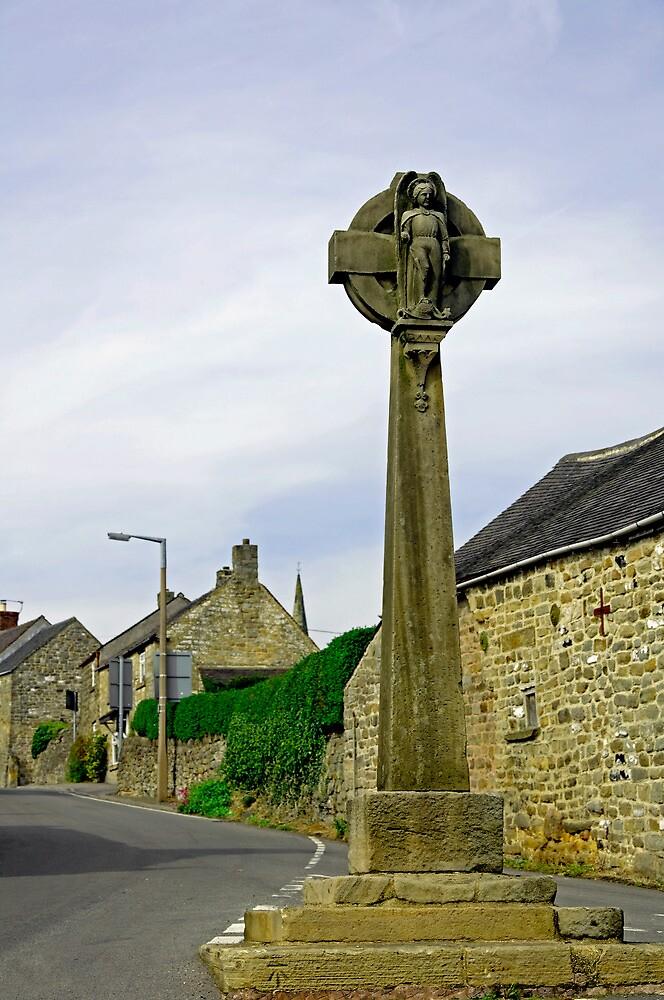Market Cross, Crich by Rod Johnson