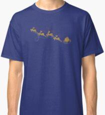 Santa Claus Deer Classic T-Shirt