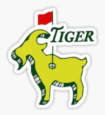 The Masters - Tiger Sticker
