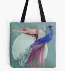 Amrita and the Moon Tote Bag