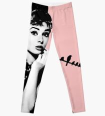 Audrey and the birds Leggings