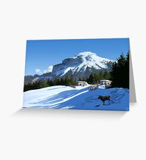 The Secluded Small Holding Greeting Card