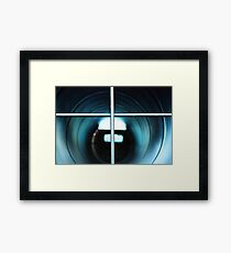 is anybody there? Framed Print