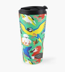 To Feather, But Not to Scale Travel Mug