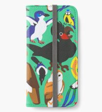 To Feather, But Not to Scale iPhone Wallet/Case/Skin