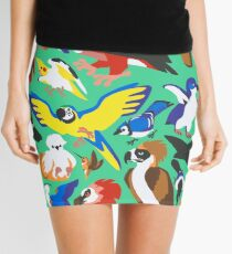To Feather, But Not to Scale Mini Skirt