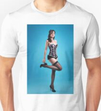 """Strike a pose"" Pin up Girl  Unisex T-Shirt"