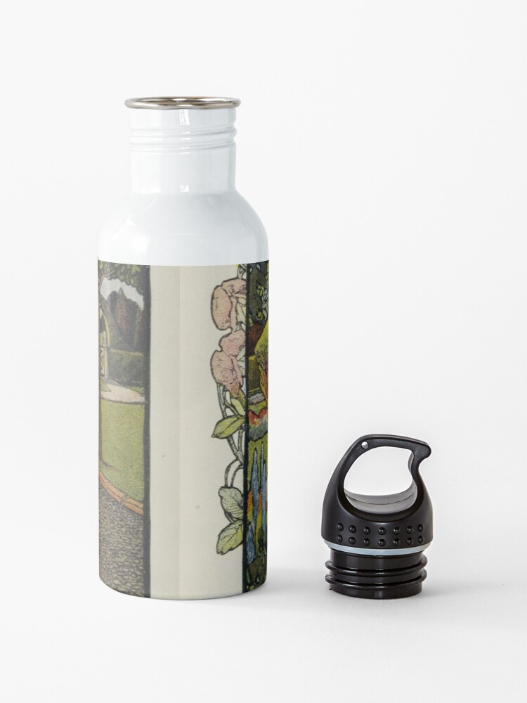 "Alternate view of Vintage Art from ""A little garden calendar for boys and girls"" book Water Bottle"