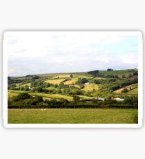 Farmlands of Brecon Sticker